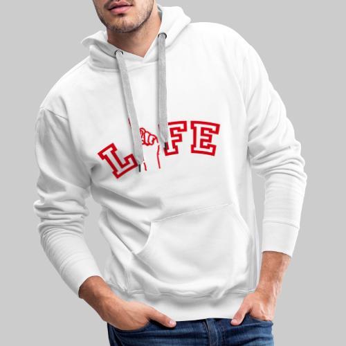 ONE LIFE - Men's Premium Hoodie