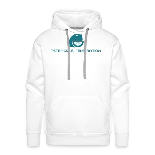 Coloured Tetracious Logo - Men's Premium Hoodie