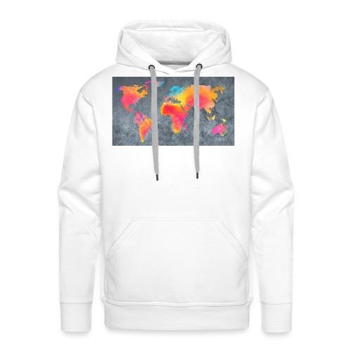 World 3 - Männer Premium Hoodie