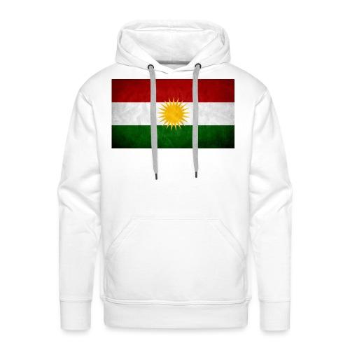Kurdistan Flagge - Männer Premium Hoodie