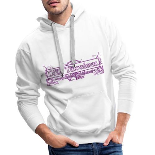 DER Taetowierer Logowear - Männer Premium Hoodie