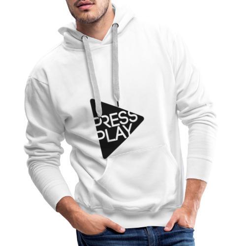 PressPlay logo - Men's Premium Hoodie