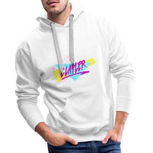 RETRO CLAYZER 80 s CALIFORNIA STYLE - Sweat-shirt à capuche Premium pour hommes