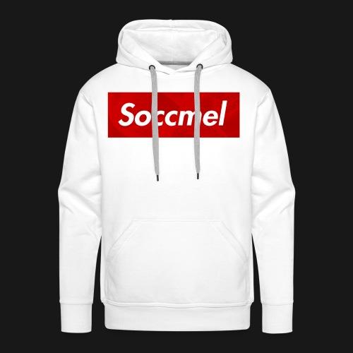 Maglietta Soccmel - Felpa con cappuccio premium da uomo