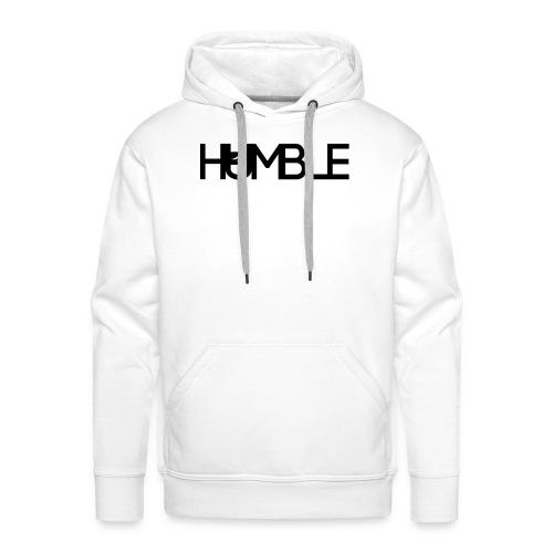 Humble logo - Mannen Premium hoodie