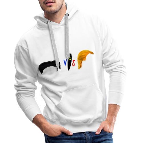 Duel des puissances - Sweat-shirt à capuche Premium pour hommes