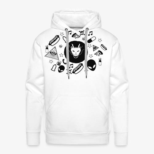 TRIPPY - Mannen Premium hoodie