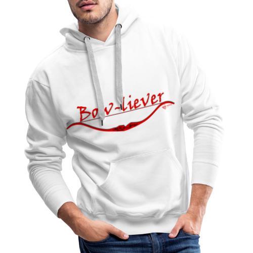 Bow-liever - Männer Premium Hoodie