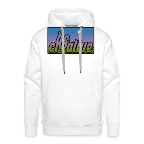 Be Creative - Mannen Premium hoodie
