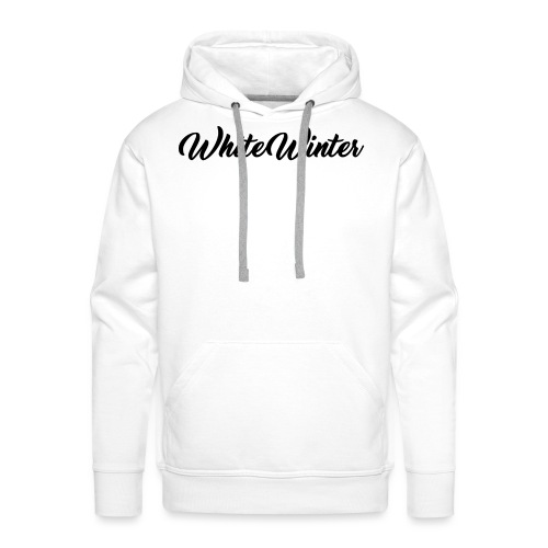 White Winter - Sweat-shirt à capuche Premium pour hommes