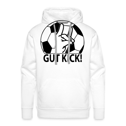 SHOP Gut Kick - Männer Premium Hoodie