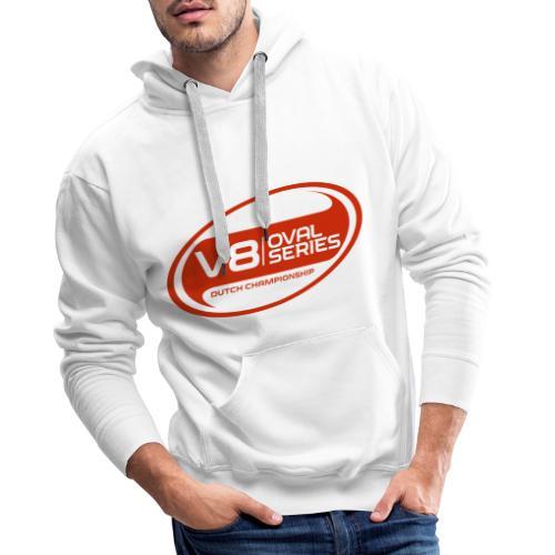 Alternatief logo rood - Mannen Premium hoodie