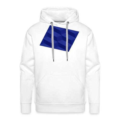 Blue Pattern | SixtyEight - Männer Premium Hoodie