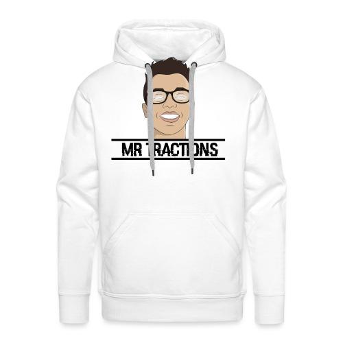 design tractions - Sweat-shirt à capuche Premium pour hommes