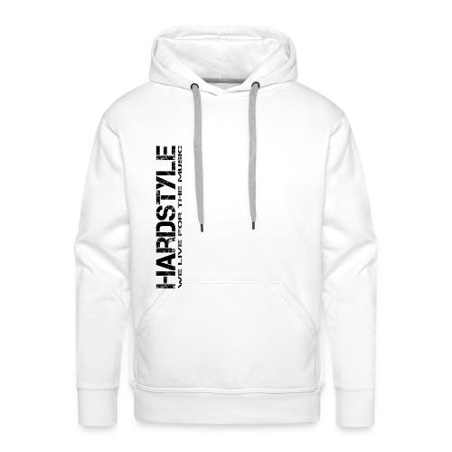 HARDSYTLE4 png - Männer Premium Hoodie