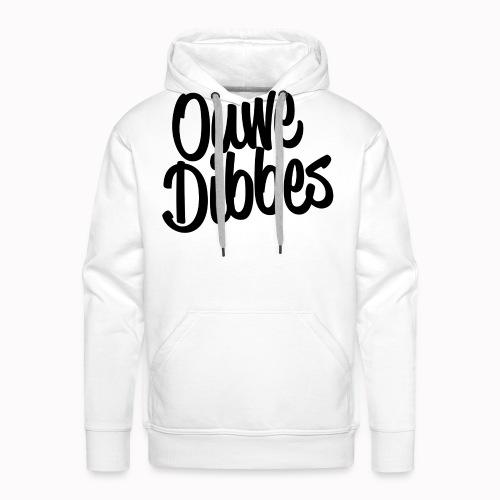 Ouwe Dibbes Zwart - Mannen Premium hoodie
