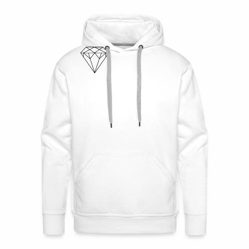 Diamond Art Art Art - Herre Premium hættetrøje