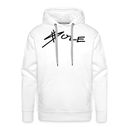 SOLE Logo Writing 2 Colour Longsleeve Tee - Männer Premium Hoodie