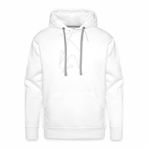 Saut de la Flèche - Sweat-shirt à capuche Premium pour hommes