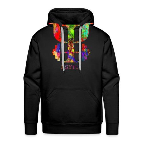 Watercolour splatter - Men's Premium Hoodie