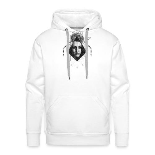 MOON GIRL - Mannen Premium hoodie