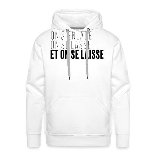 Philosophie sur l'amour - Sweat-shirt à capuche Premium pour hommes