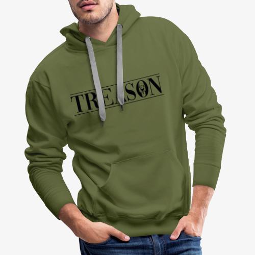 Treason - Donald Trump - Herre Premium hættetrøje