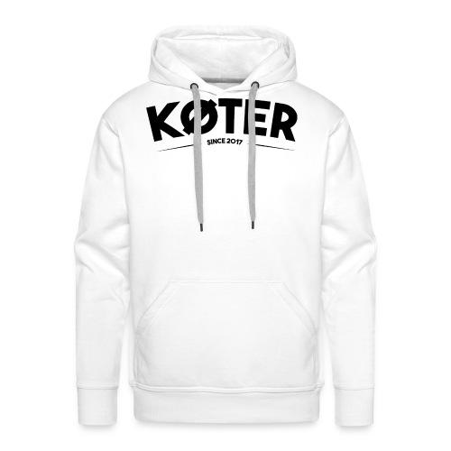 plyed logo koter - Männer Premium Hoodie