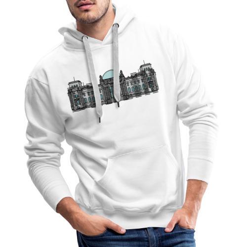Berlin Linienschrift - Männer Premium Hoodie