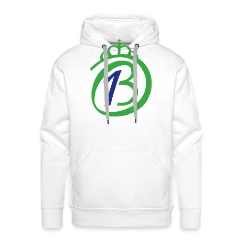 Logo Por nuestro Betis - Sudadera con capucha premium para hombre