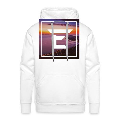 EMPRiiX Pullover White - Männer Premium Hoodie
