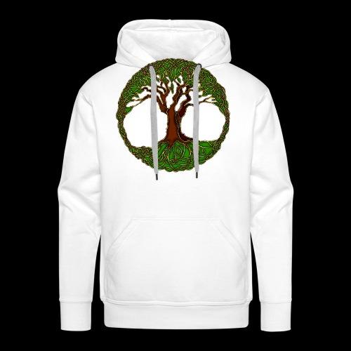 Tree of Life - colour - Men's Premium Hoodie