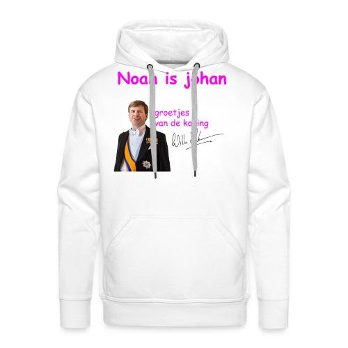 Noah is een echte Johan - Mannen Premium hoodie