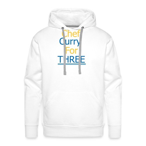 Chef Curry for THREE - Männer Premium Hoodie
