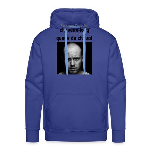 Humour Chauve ! - Sweat-shirt à capuche Premium pour hommes