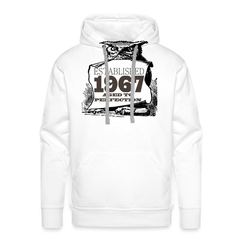 Established ____ Aged To Perfection - Men's Premium Hoodie