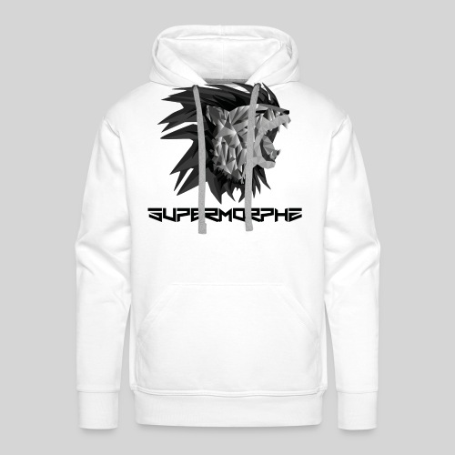 SuperMorphz Metal Lion - Männer Premium Hoodie