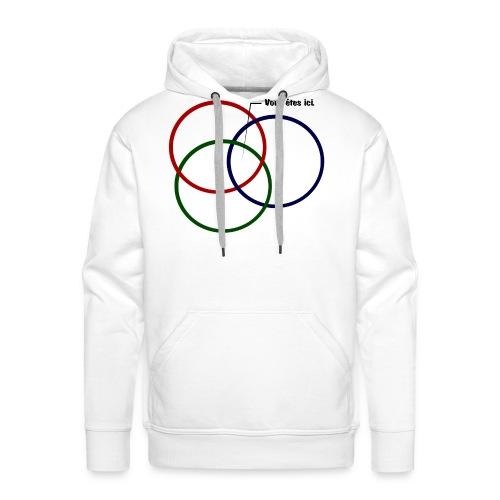 ISR T shirt png - Sweat-shirt à capuche Premium pour hommes
