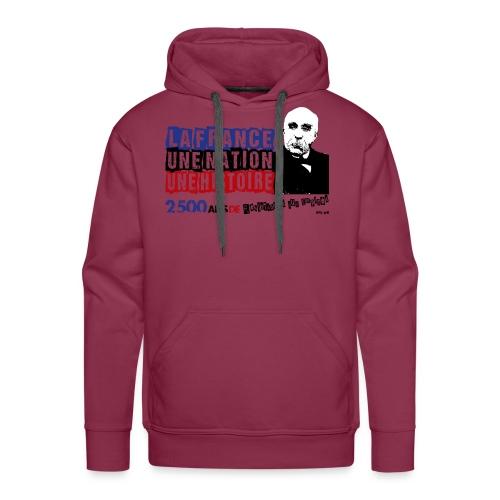 Clémenceau - Sweat-shirt à capuche Premium pour hommes