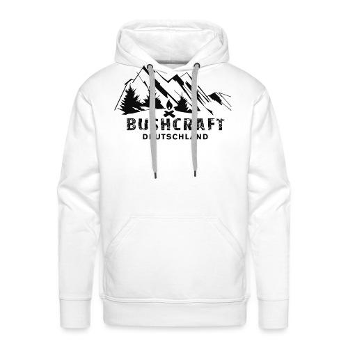 Bushcraft_1_black - Männer Premium Hoodie