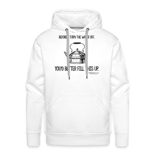 Kettle White - Men's Premium Hoodie
