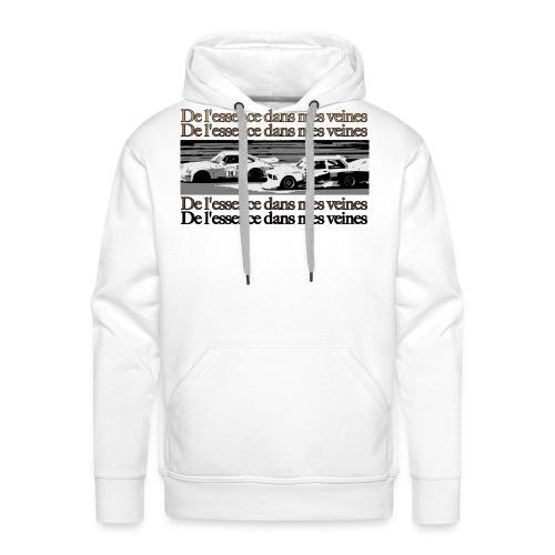 DLEDMV - Vintagerace#1 - Sweat-shirt à capuche Premium pour hommes