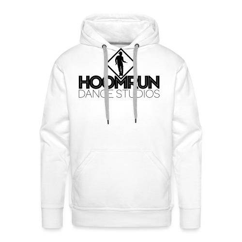 homerun logo rood - Mannen Premium hoodie