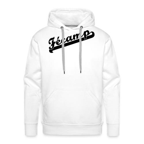 fecamp team spirit noir png - Sweat-shirt à capuche Premium pour hommes