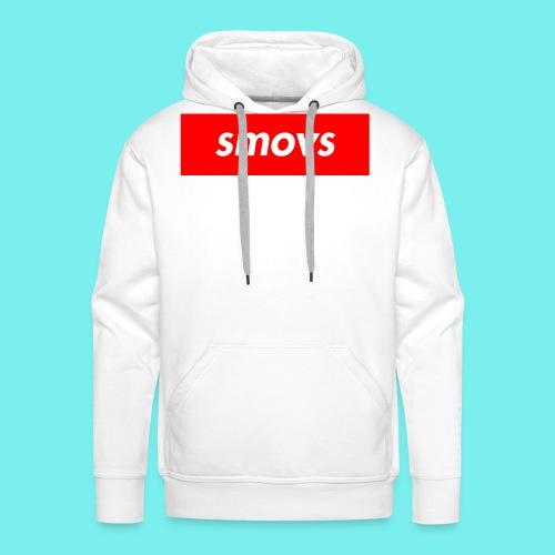 Smovs red box - Herre Premium hættetrøje