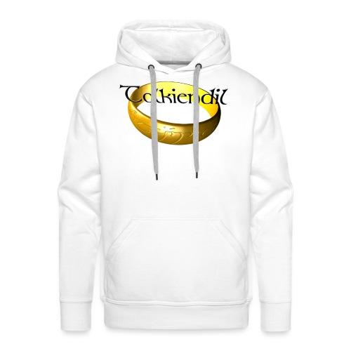 tolkiendil anneau 2600 1600 - Sweat-shirt à capuche Premium pour hommes