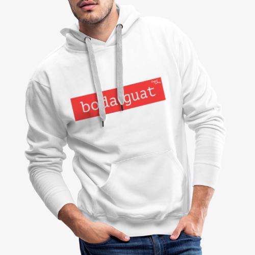 boda guat - rot - Männer Premium Hoodie