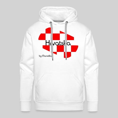 MarvellousCroatia - Männer Premium Hoodie