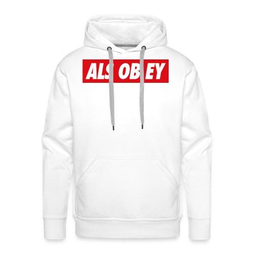 ALS OB EY - Männer Premium Hoodie