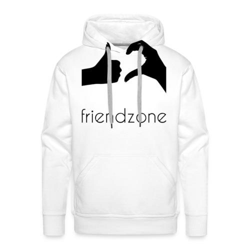 friendzone logo - Sudadera con capucha premium para hombre
